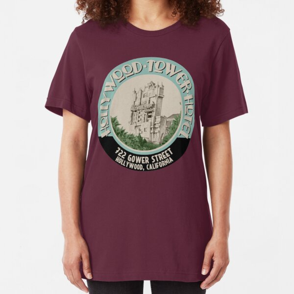 Hollywood Tower Slim Fit T-Shirt