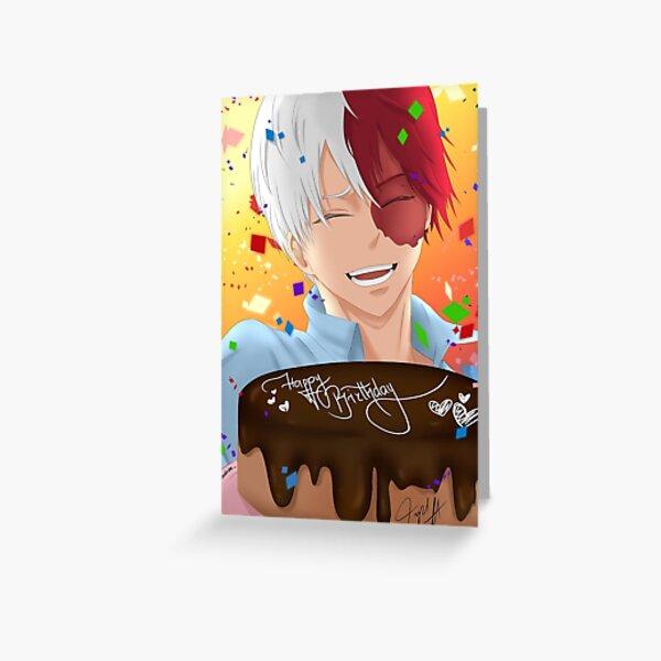 Shoto Todoroki Greeting Card