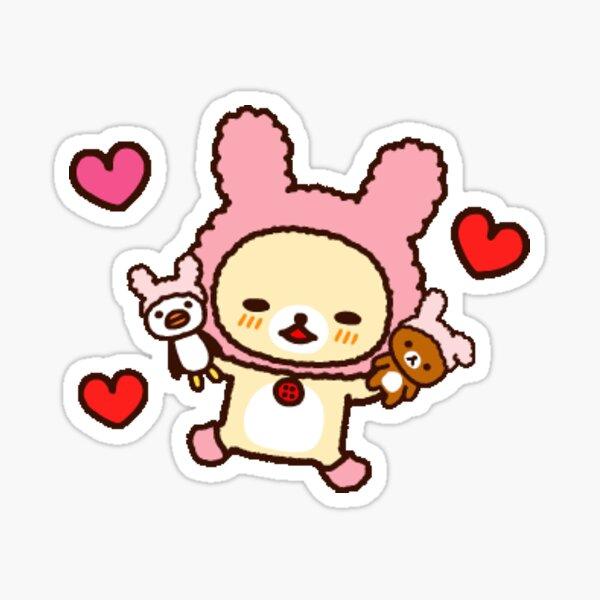korilakkuma valentine's day Sticker