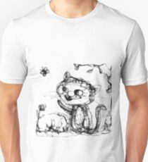 kitty playing wid butterfly T-Shirt