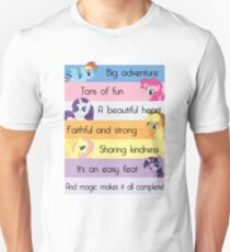 Friendship Is Magic Unisex T-Shirt