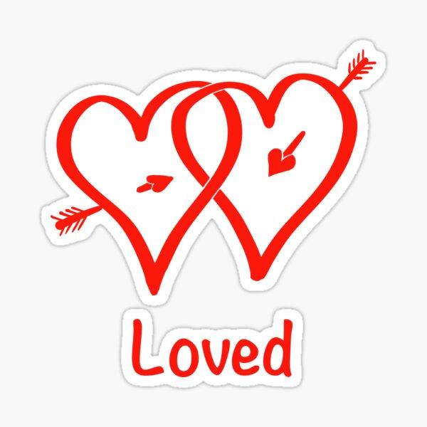 Loved Sticker