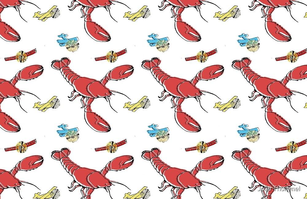 Flying Lobsters by Julia Thummel