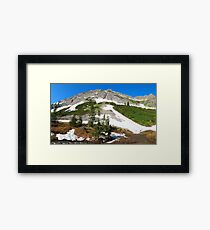High altitude environs II Framed Print