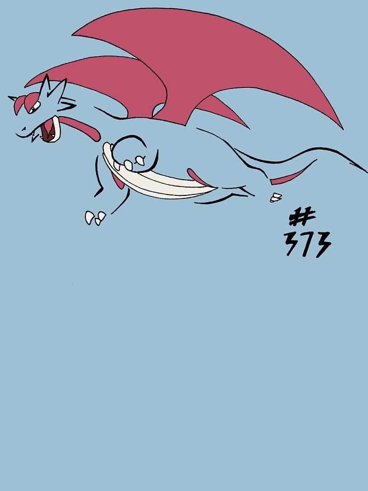 Pokemon 373 Salamence | Unisex T-Shirt