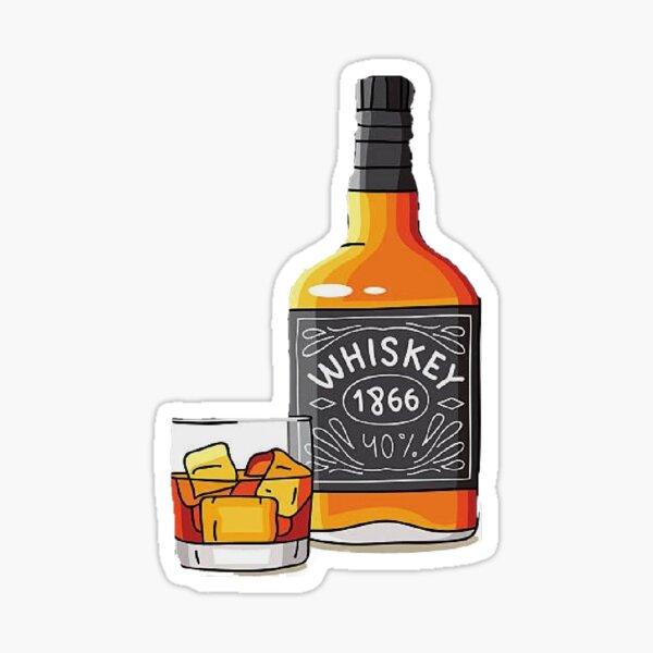 Whiskey Sticker