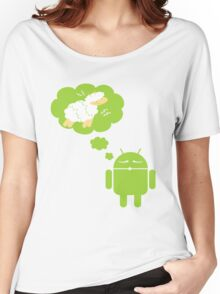 DROID Dreaming of an Electric Sheep Women's Relaxed Fit T-Shirt