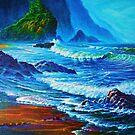 Morning Surf Oregon by jyruff