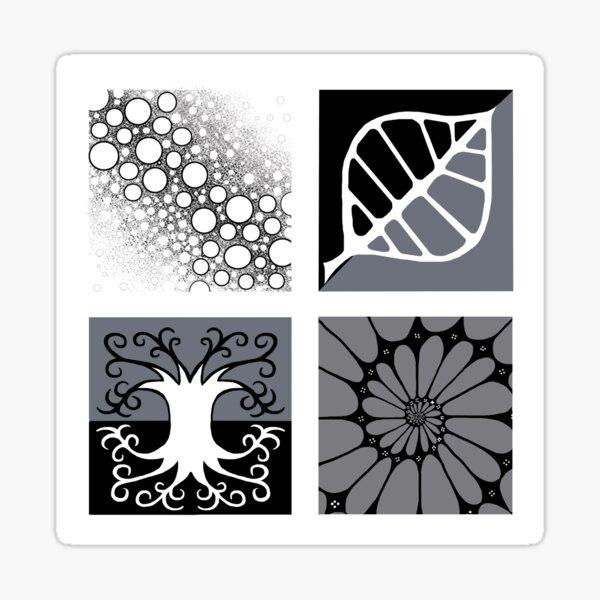 Patterns in nature Sticker