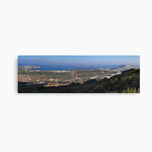 The Island of Santorini Canvas Print