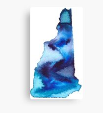 New Hampshire Home State Canvas Print