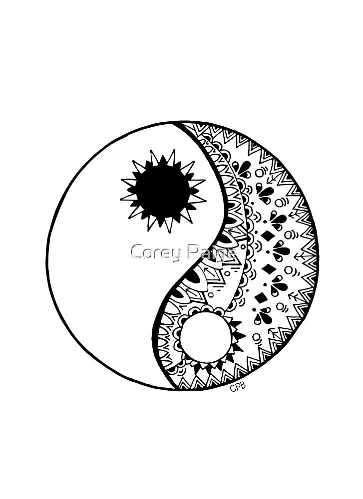 Single Yin Yang by Corey Paige