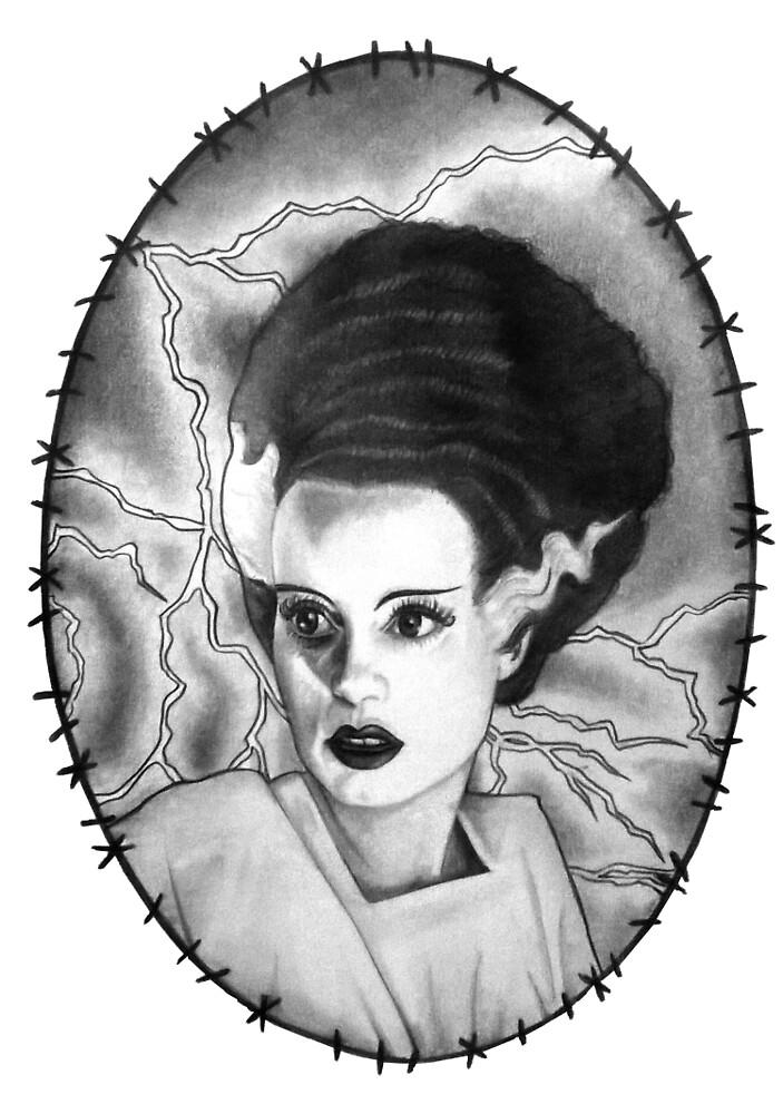 The Bride of Frankenstein by rachelshade
