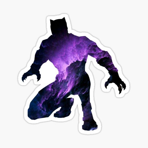 T'Challa Silhouette Sticker