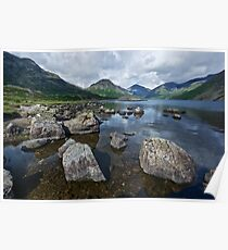 Wastwater English Lake District Poster