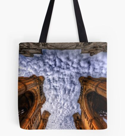 A sign from above.  Tote Bag