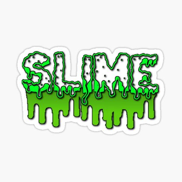Dripping Slime Sticker