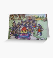 Nightgoblins and Stompers Greeting Card