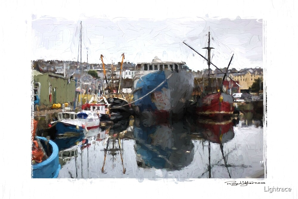 Penzance Harbour by Lightrace