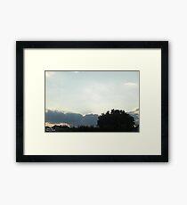 SunDown 9 Framed Print