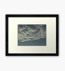 Sky Or Ocean ?  3 Framed Print