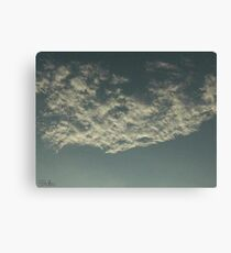 Sky Or Ocean ? 2 Canvas Print