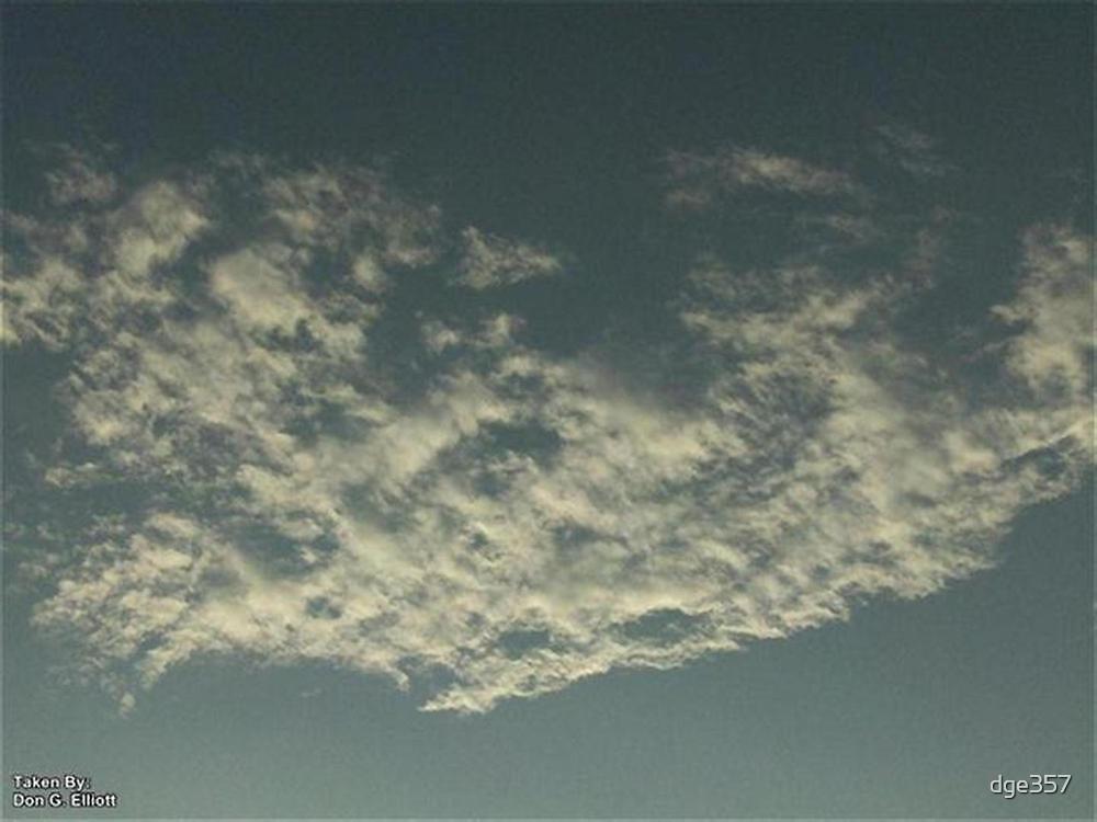 Sky Or Ocean ? by dge357