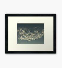 Sky Or Ocean ? Framed Print
