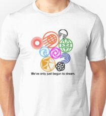 Epcot Center Classic Pavilion Logos  T-Shirt