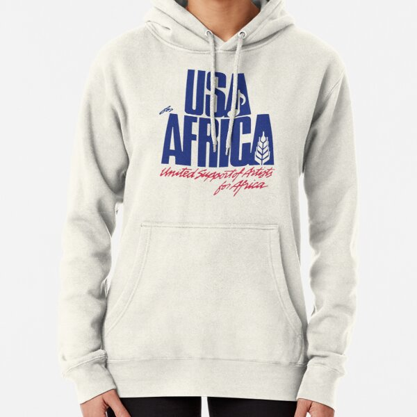 USA for AFRICA Pullover Hoodie