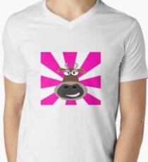 Funky Cow Men's V-Neck T-Shirt