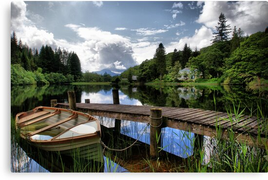 Loch Ard ~ The Trossachs, Scotland by Sandra Cockayne