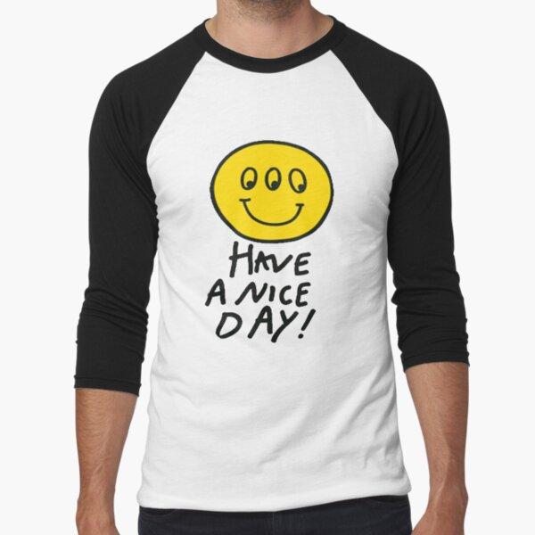 Third Eyed Smiley  Baseball ¾ Sleeve T-Shirt