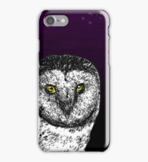 Birds Of Prey Barn Owl  iPhone Case/Skin
