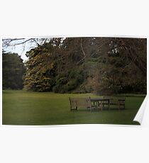 Mansion Gardens ~ Werribee Park, Victoria Poster