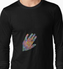 handful of roses (black background) Long Sleeve T-Shirt