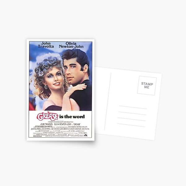 Grease Poster Postcard