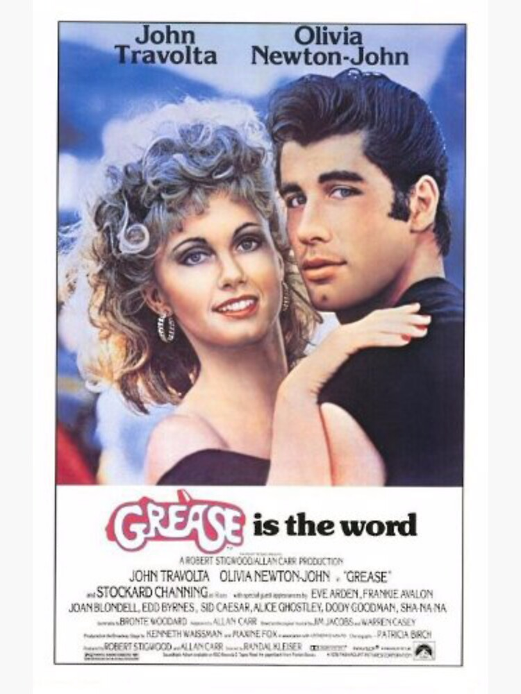 Grease Poster by tele-vision