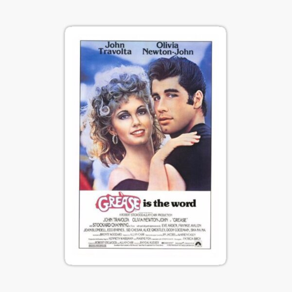 Grease Poster Sticker