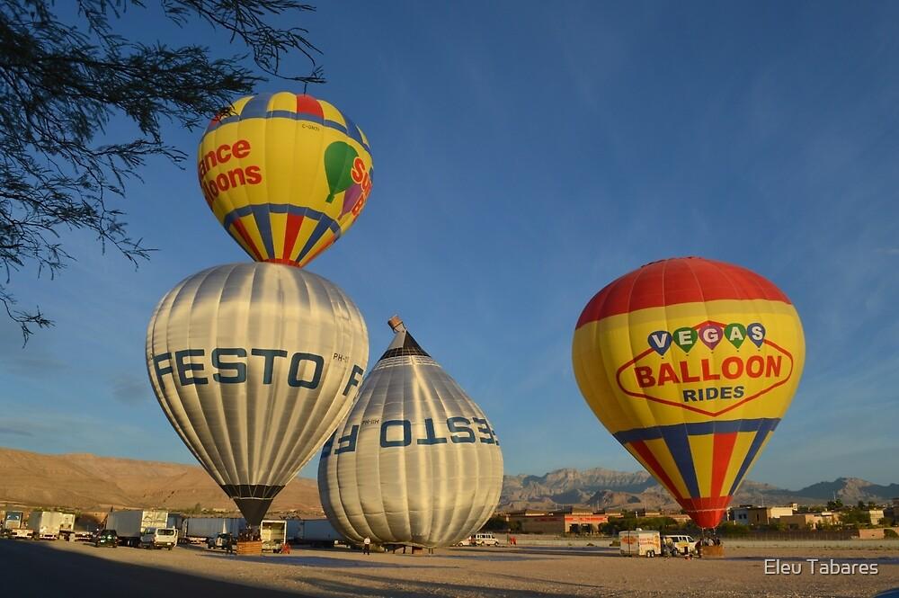 Hot Air Balloon by Eleu Tabares