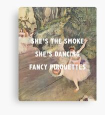 a ballet Canvas Print