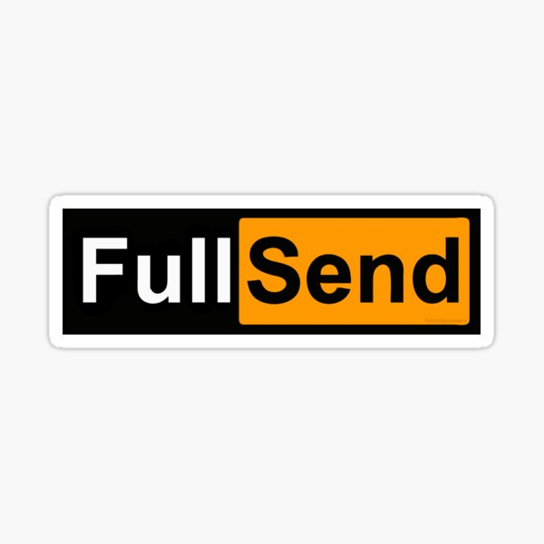 Full Send Hub Sticker