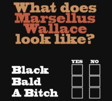 What does Marsellus Wallace look like?