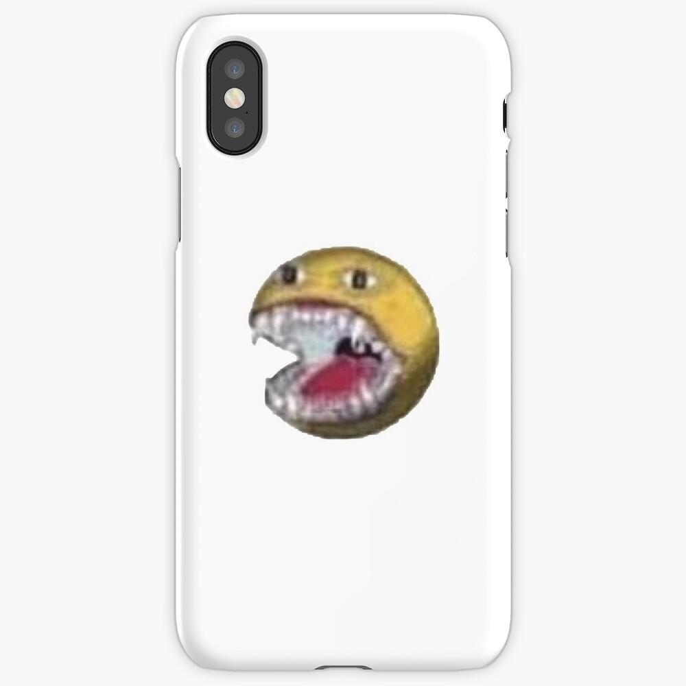 """Cursed Emoji"" IPhone Case & Cover By Minimalistjack"