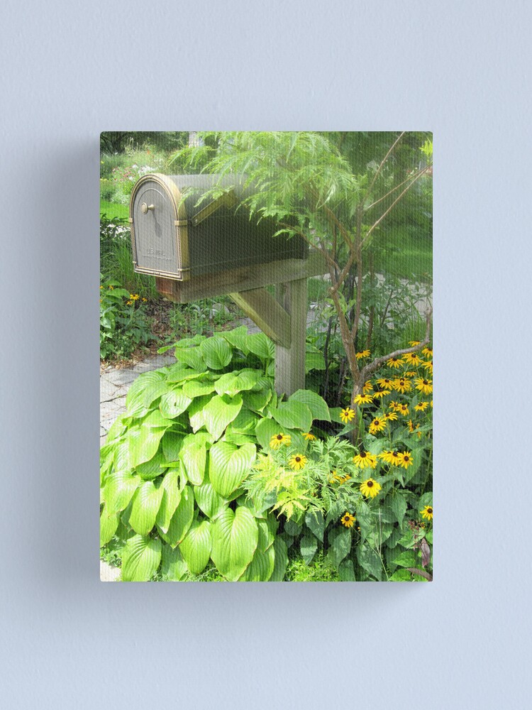 Alternate view of The Blooming Mail Canvas Print