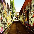 Graffiti Alley by Jason Dymock Photography