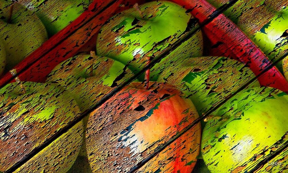 ~ Apples and Rhubarb ~ by Leeo