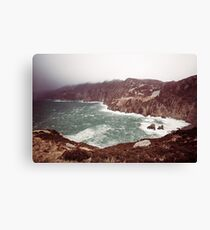 Sliabh Liag in Winter Canvas Print