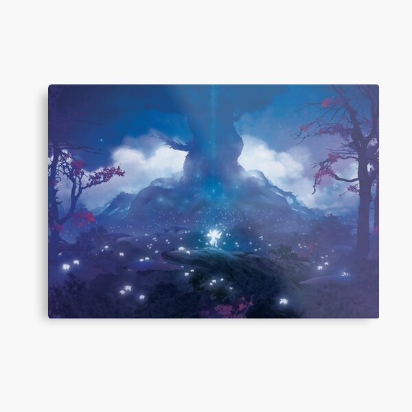 Resurrected by the tree (Only 35 prints!) Metal Print