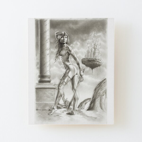 RISE OF THE AMAZONS Wood Mounted Print